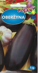 Oberżyna Black Beauty 1g.